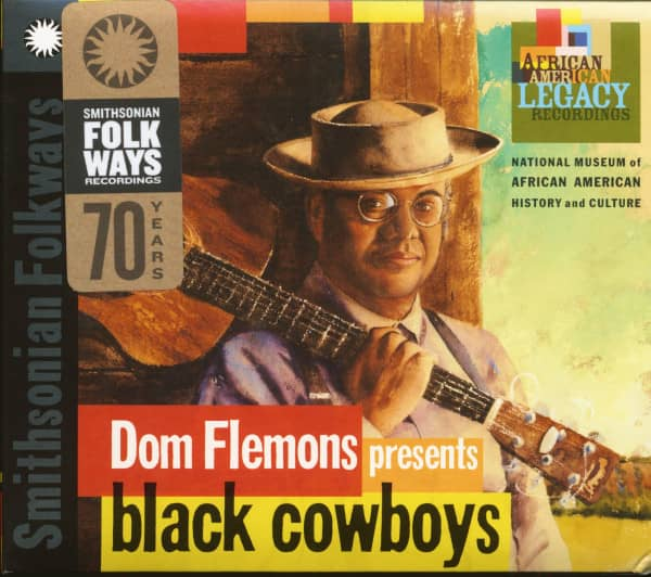 Dom Flemons presents Black Cowboys (CD)