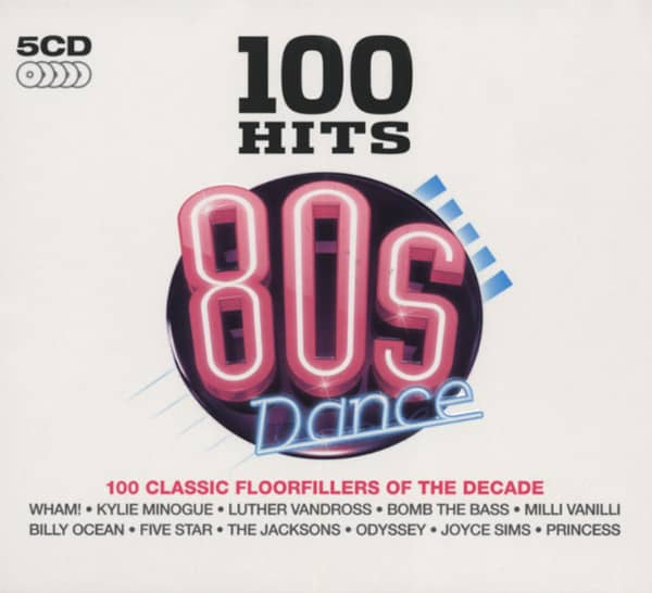 100 Hits - Eighties Dance (5-CD)