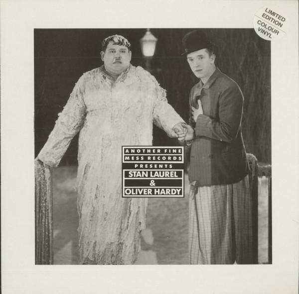 Another Fine Mess Records Presents - Stan Laurel & Oliver Hardy Vol.2 (LP, White Vinyl, Ltd.)