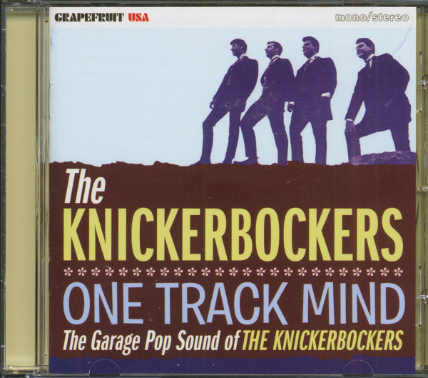 One Track Mind - The Garage Pop Sound Of The Knickerbockers (CD)