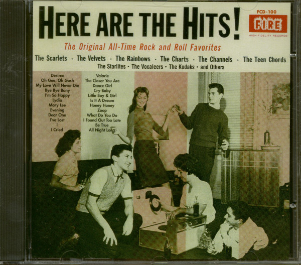 Here Are The Hits! The Original All-Time Rock And Roll Favorites (CD)