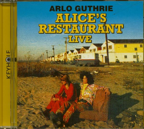 Alice's Restaurant Live - The 1967 WBAI-FM Collection (CD)