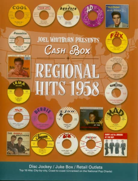 Joel Whitburn Presents - Cash Box - Regional Hits 1958