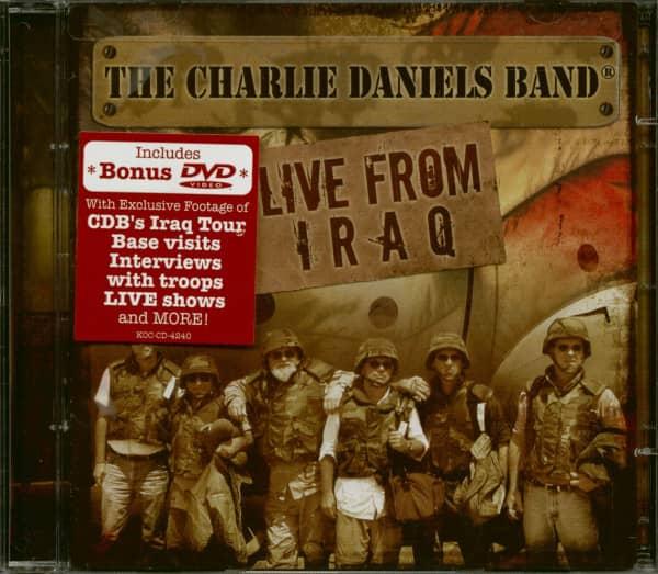 Daniels, Charlie Live In Bagdhad CD&Bonus DVD