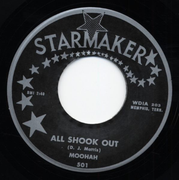 All Shook Out b-w Candy 7inch, 45rpm