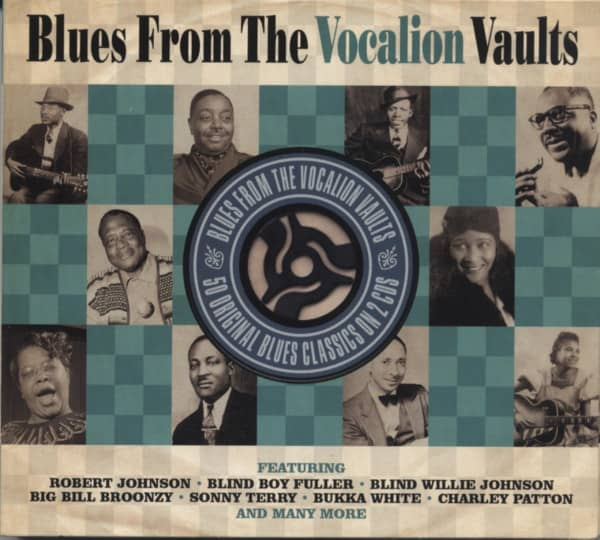 Blues From The Vocalion Vaults (2-CD)