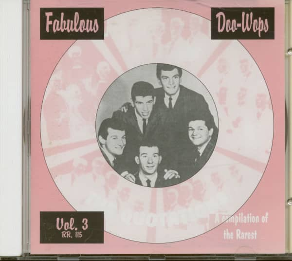 Fabulous Doo-Wops Groups Vol.3 (CD)
