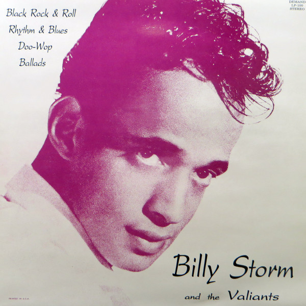 Billy Storm And The Valiants - Black Rock'n'Roll, R&B, Doo Wop, Ballads (Vinyl LP)