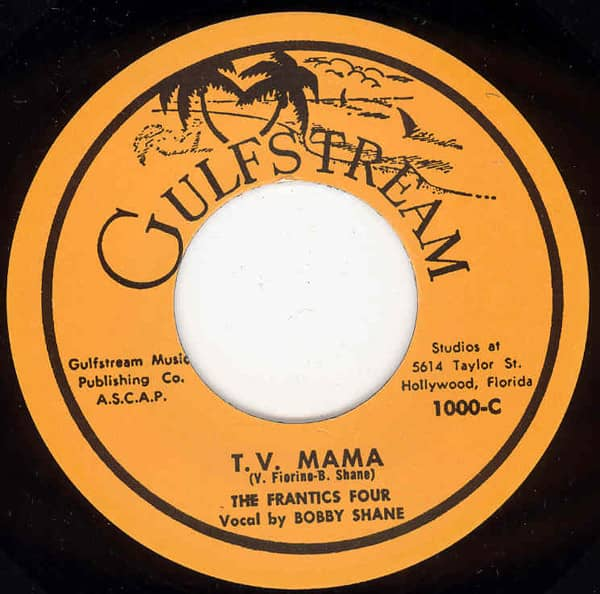 T.V.Mama b-w Down By The Old Mill Stream 7inch, 45rpm