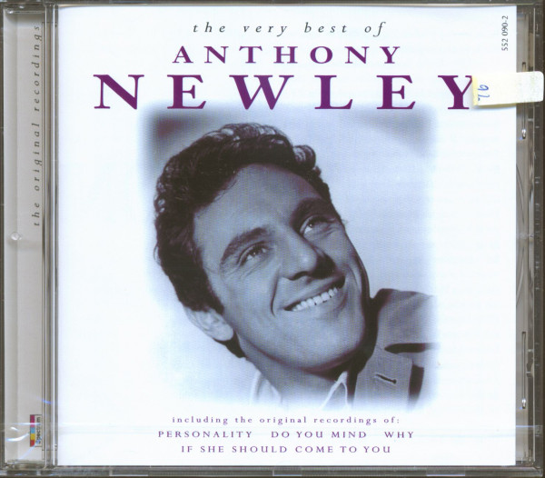 The Very Best Of Anthony Newley (CD)