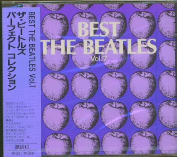 Best - The Beatles, Vol.7 (CD, Japan)