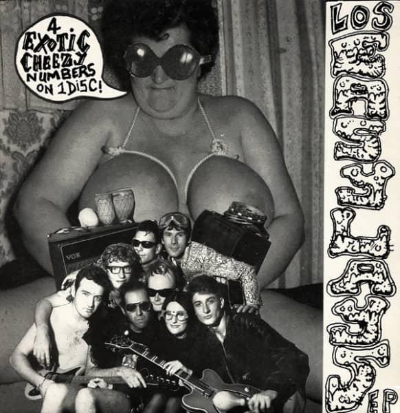 Los Easy Lays 7inch, 45rpm, EP, PS, SC