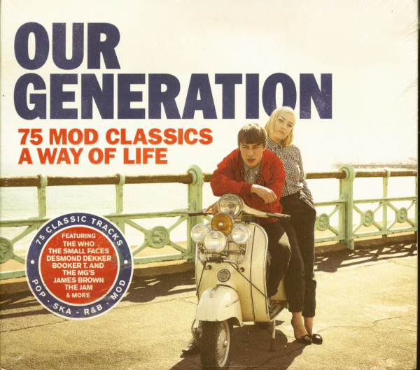 Our Generation - 75 Mod Classics - A Way Of Life (3-CD)