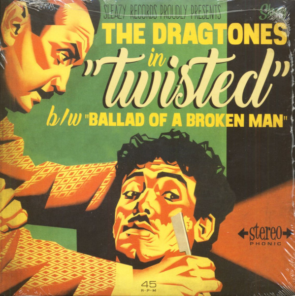 Twisted - Ballad Of A Broken Man (7inch, 45rpm, PS)