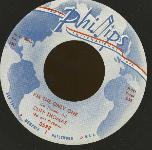 I'm The Only One - Tidewind (7inch, 45rpm)