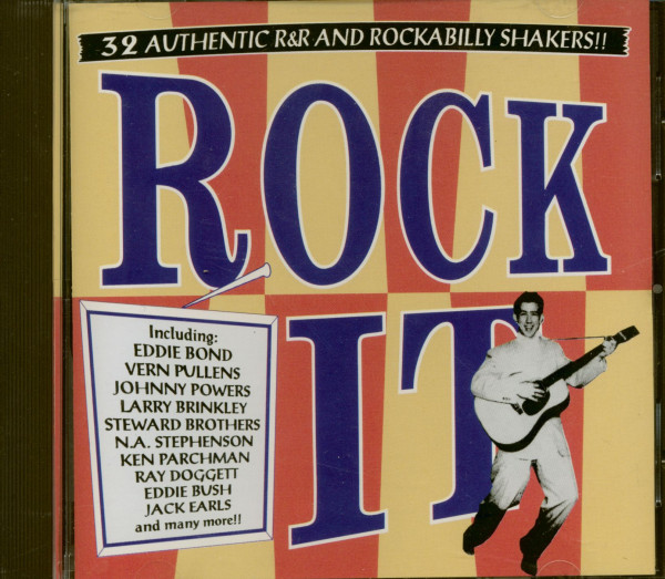 Rock It - 32 R&R And Rockabilly Shakers (CD)