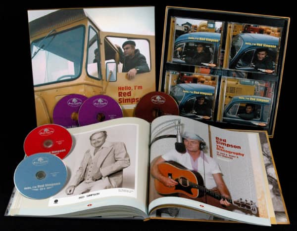 Hello, I'm Red Simpson (5-CD Deluxe Box Set)