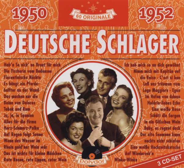 Va Deutsche Schlager 1950-1952 3-CD