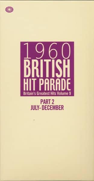 1960 British Hit Parade, Vol.9 - Part 2 July- December (6-CD Box)