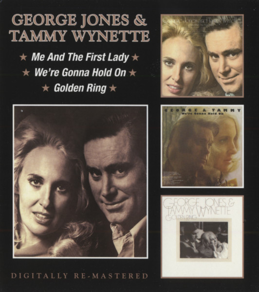 Me & The First Lady - We're Gonna Hold On - Golden Ring (2-CD)
