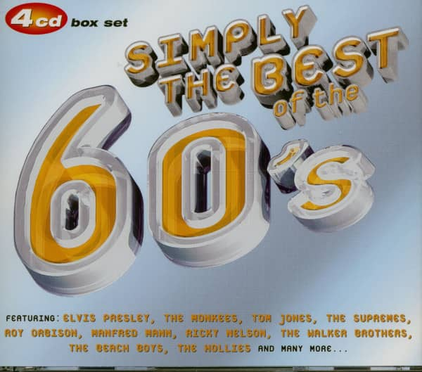 Simply The Best 60's (4-CD)
