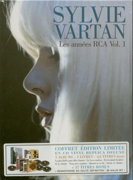 Vartan, Sylvie Les Annees RCA...plus Vol.1 (5-CD)