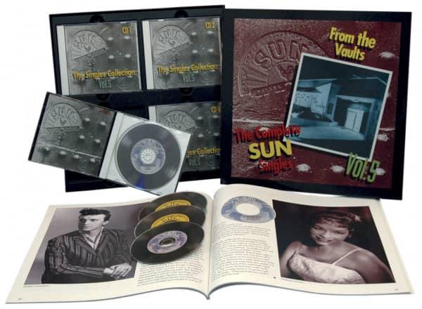 The Sun Singles Vol.5 (4-CD & Buch)