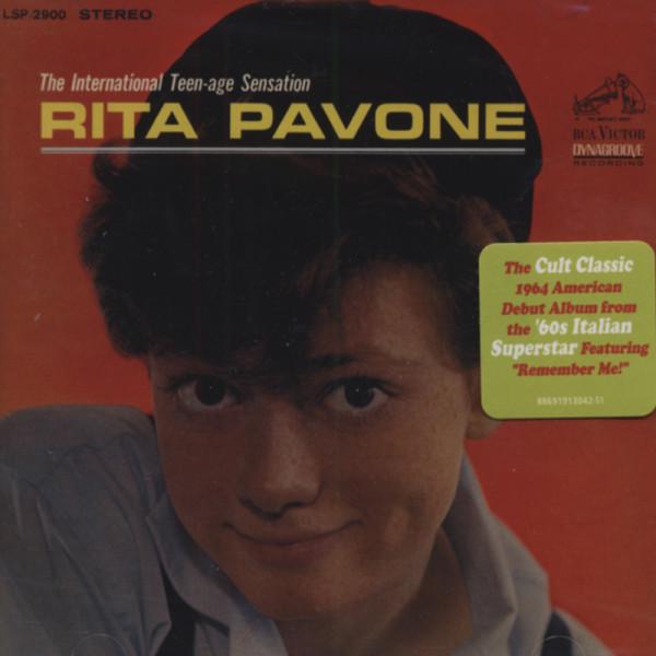 Pavone, Rita International Teen-Age Sensation (1964)...plu