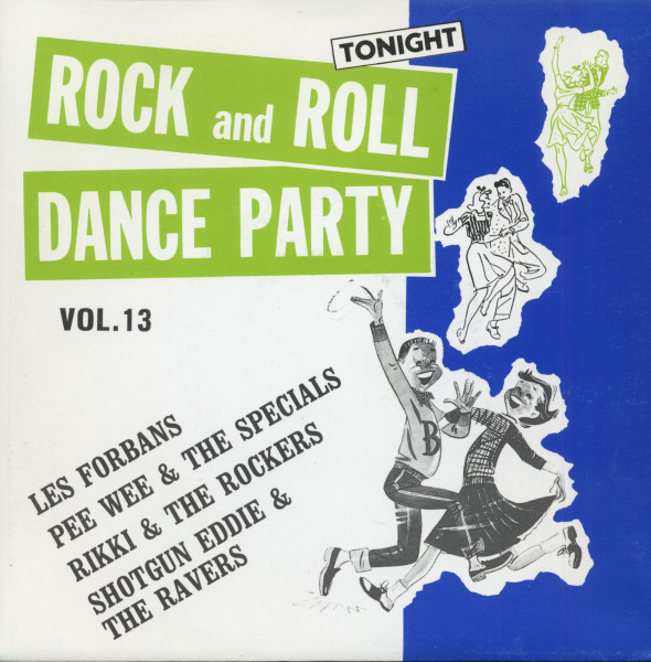 Rock And Roll Dance Party Tonight Vol.13 (7inch, EP, 45rpm, PS)