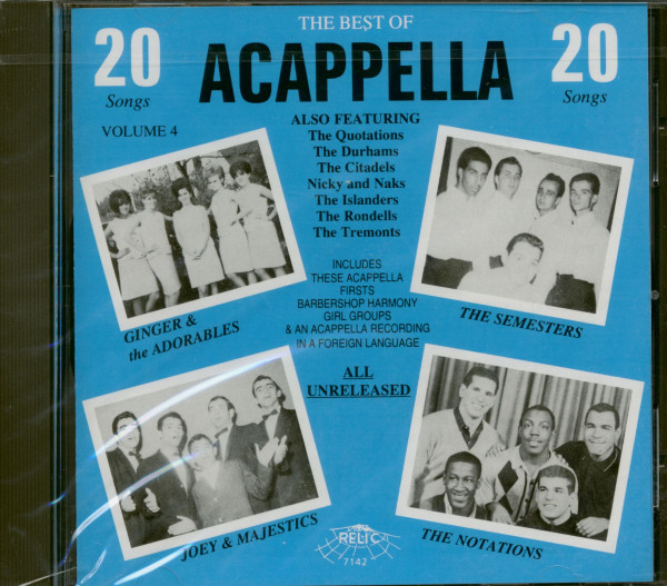 Best Of Acappella Vol.4