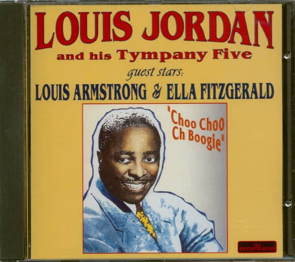 Louis Jordan And His Tympany Five - Quest Stars Ella Fitzgerald & Louis Armstrong (CD)