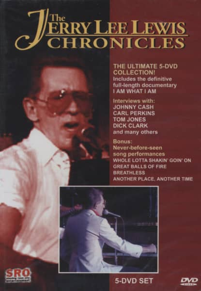 Lewis, Jerry Lee Chronicles (5-DVD) NTSC