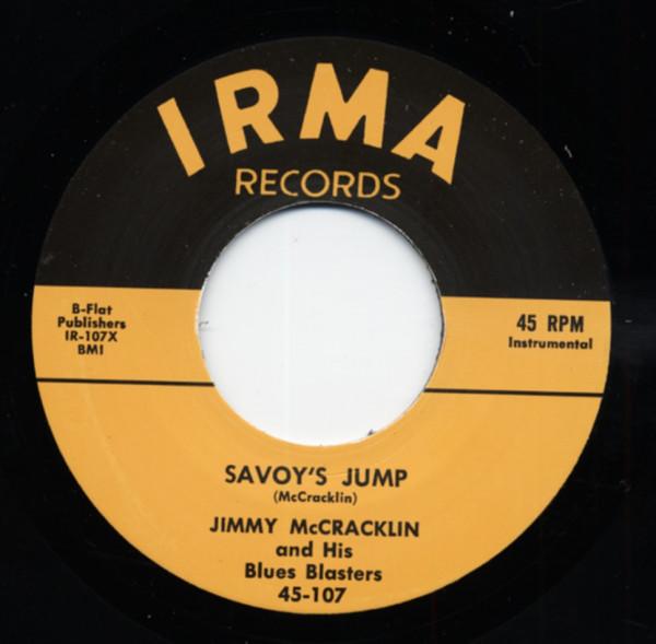 Savoy's Jump b-w I'm The One 7inch, 45rpm
