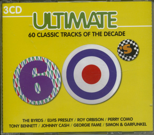 Ultimate - 60's - 60 Classic Tracks Of The Decade (3-CD)