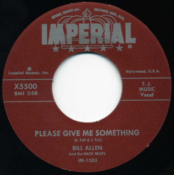 Please Give Me Something - Since I Have You (7inch, 45rpm)