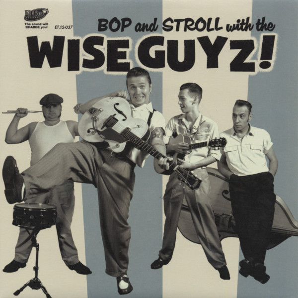 Bop And Stroll With The Wise Guyz 7inch, 45rpm, EP, PS, SC