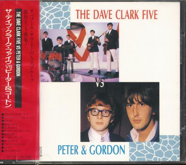 The Dave Clark Five vs. Peter & Gordon (CD, Japan)