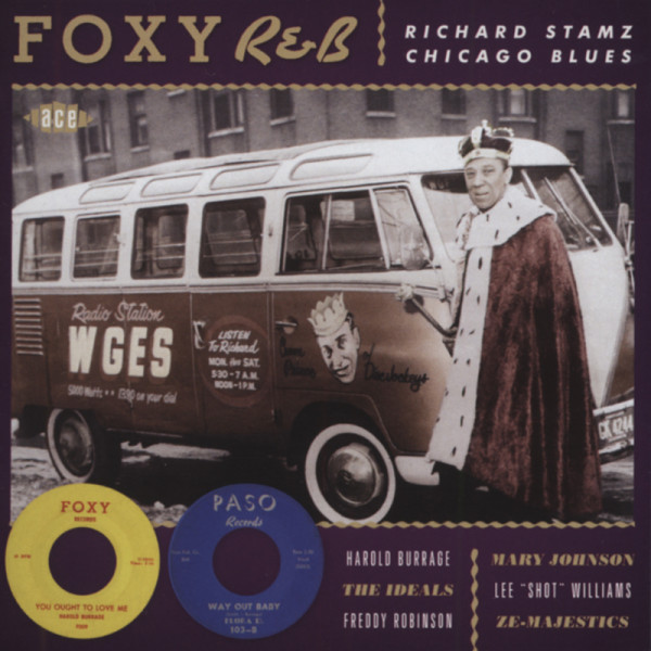 Various Artists Foxy R&B: Richard Stamz Chicago Blues