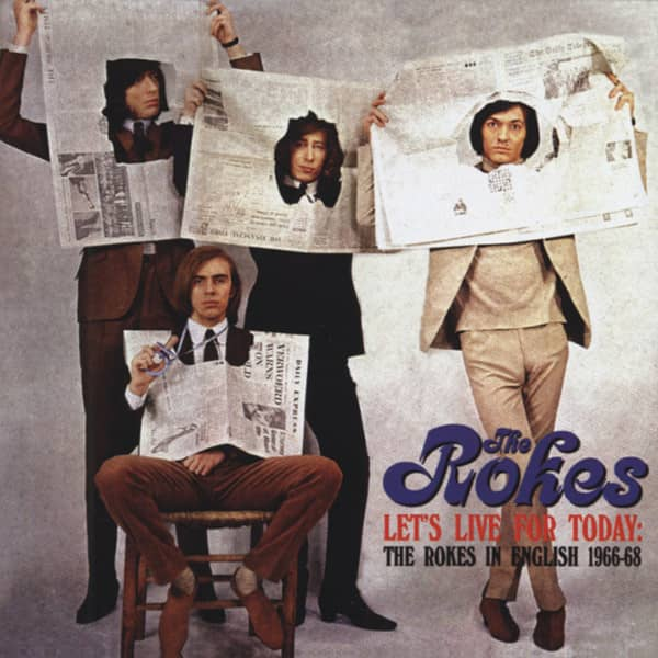 Rokes Let's Live For Today - In English 1966-68