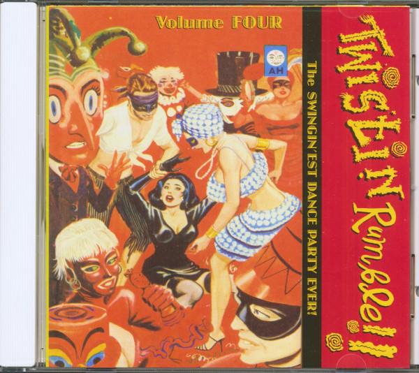Twistin' Rumble Vol.4 (CD)