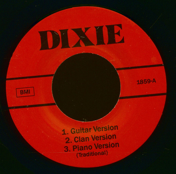 Dixie - Various Versions (7inch EP, 45rpm)