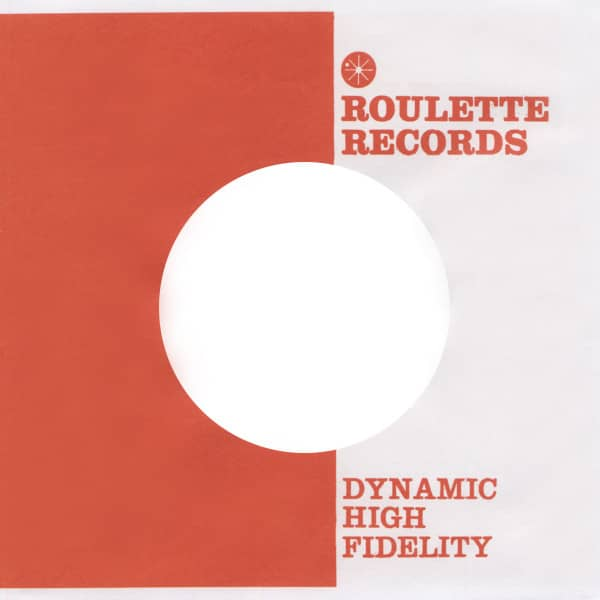 (50) Roulette - 45rpm record sleeve - 7inch Single Cover