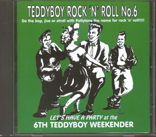 Teddy Boy Rock'n'Roll Vol.6 - 6th Teddy Boy Weekender (CD)