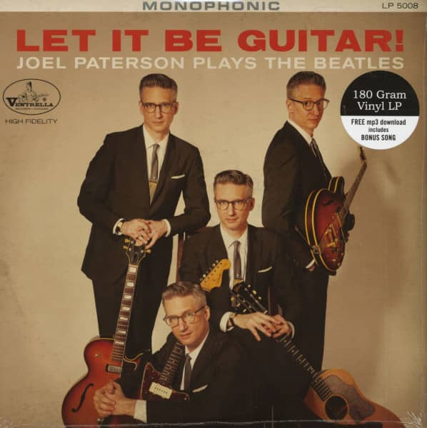 Let It Be Guitar - Joel Paterson Plays The Beatles (LP & Download Code)