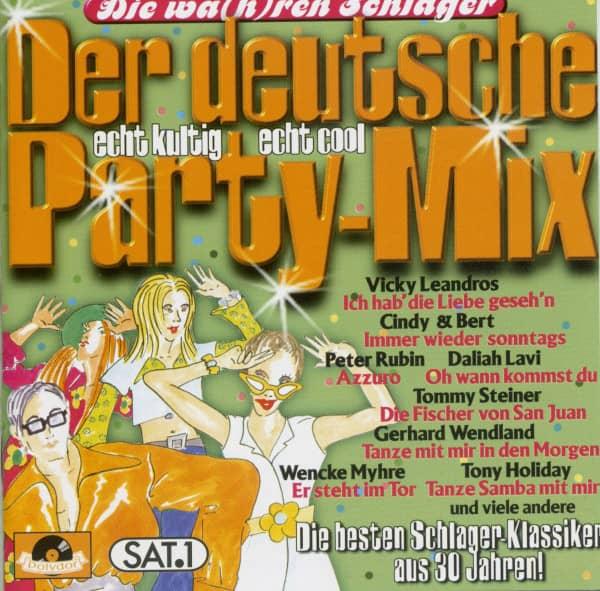 Die wa(h)ren Schlager - Der deutsche Party-Mix (CD)