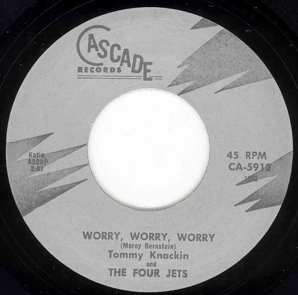 Woory, Worry, Worry b-w Somewhere There Is Someon 7inch, 45rpm