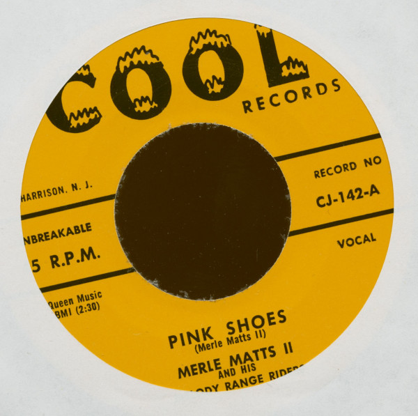 Pink Shoes - Shake With Me Baby (7inch, 45rpm)