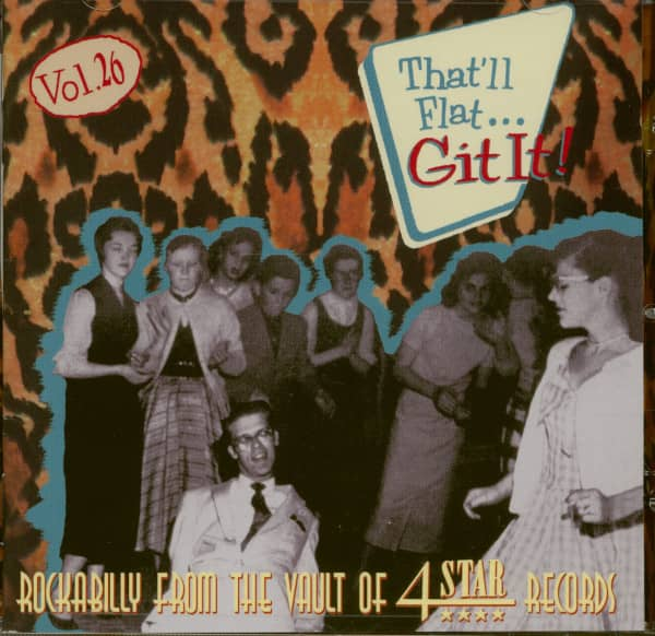 Vol.26 - Rockabilly From The Vaults Of 4 Star Records (CD)