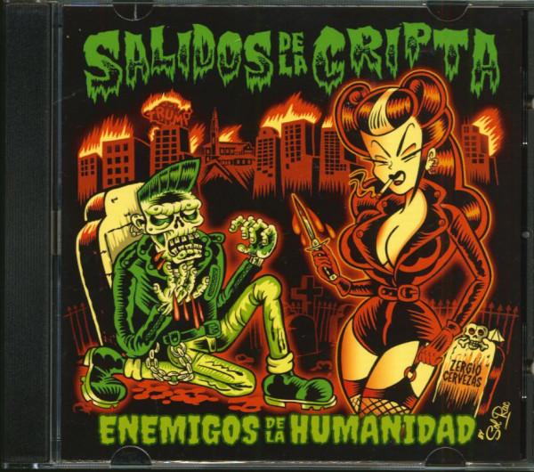 Enemigos De La Humanidad (CD)
