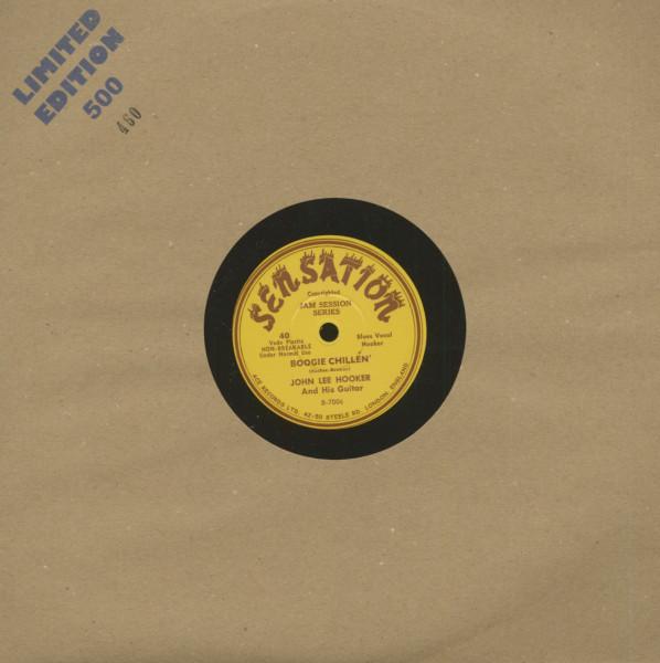 Boogie Chillen' - Boogie Chillen' Take 2 (LP, 10inch, Ltd.)